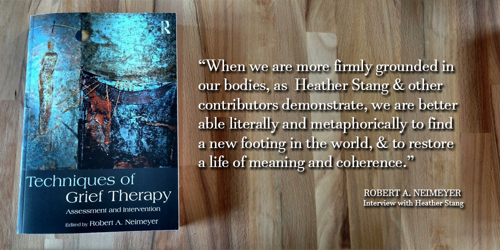New Grief Book Features FMC Founder Heather Stang