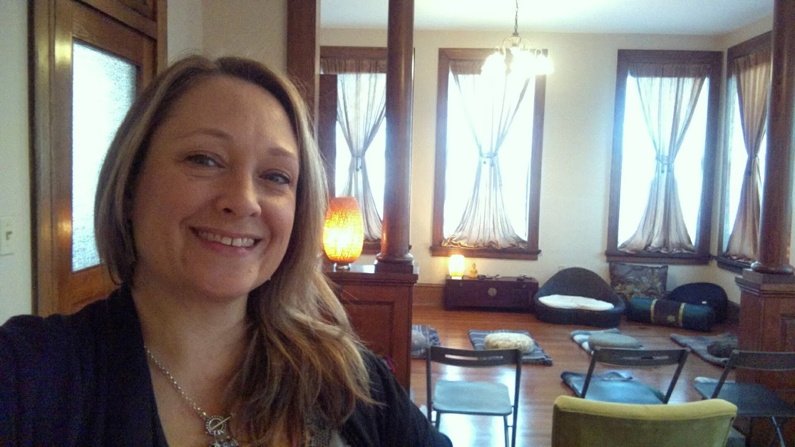 private meditation classes with Heather Stang