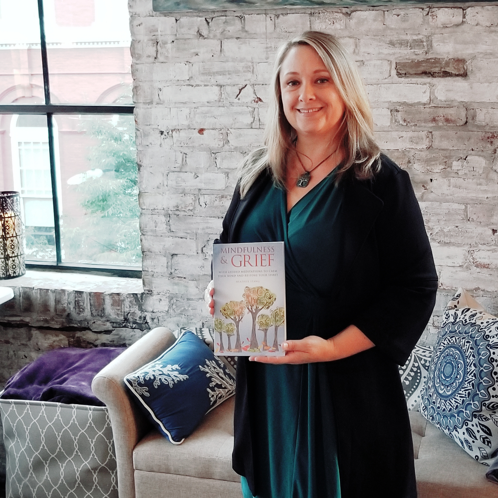 heather stang mindfulness grief book launch